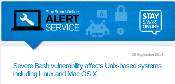 On 25.09.2014 a severe internet security alert was issued for many Linux/Mac systems. stSoftware immediately patched all our cloud hosted servers in response to this alert. We advise individuals or organisations with Unix-based systems they will need to patch all internet facing Linux/Mac servers immediately. See Severe Bash vulnerability affects Unix-based systems including Linux and Mac OSX for more information on how to manage this internet security issue. We recommend internet users subscribe...