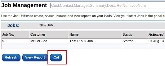 iCal Button
